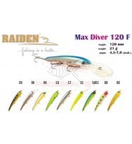 Воблер RAIDEN Max Diver