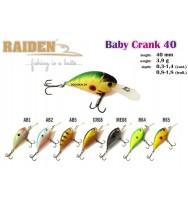 Воблер RAIDEN Baby Сrank 40