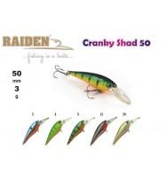 Воблер RAIDEN Cranky Shad 50
