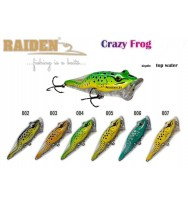 Воблер RAIDEN Crazy Frog 80
