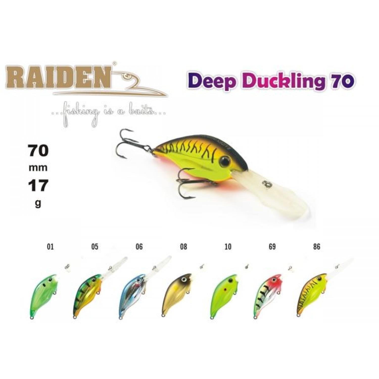 Покупка Воблер RAIDEN Deep Duckling в Минске Беларуси