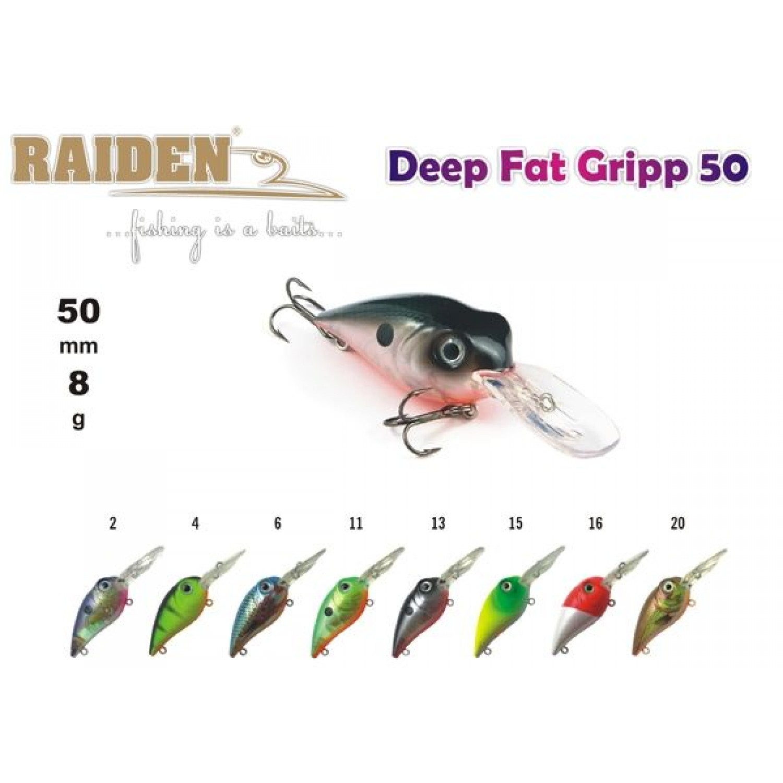 Покупка Воблер RAIDEN Deep Fat Gripp 50 в Минске Беларуси