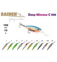 Воблер RAIDEN Deep Minnow C 100