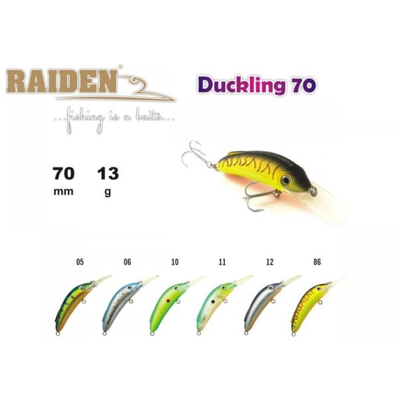 Покупка Воблер RAIDEN Duckling 70 в Минске Беларуси