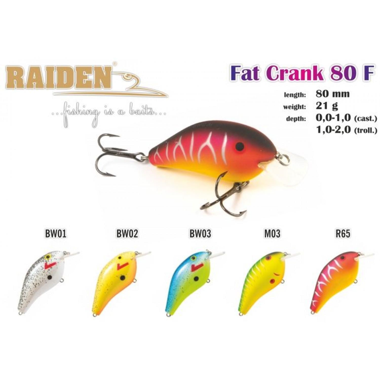 Покупка Воблер RAIDEN Fat Crank в Минске Беларуси