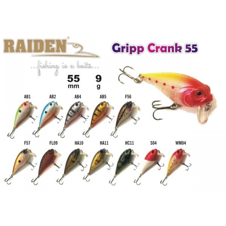 Покупка Воблер RAIDEN Gripp Crank 55 в Минске Беларуси