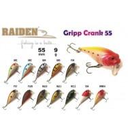 Воблер RAIDEN Gripp Crank 55