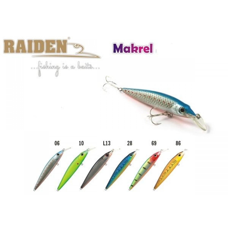 Покупка Воблер RAIDEN Makrel 125 в Минске Беларуси