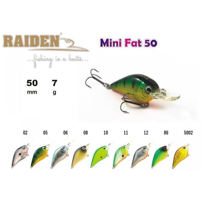 Покупка Воблер RAIDEN Mini Fat 50 в Минске Беларуси