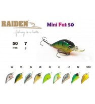 Воблер RAIDEN Mini Fat 50