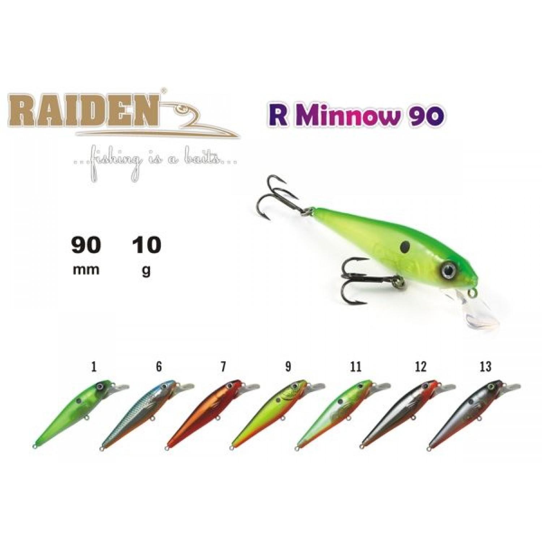 Покупка Воблер RAIDEN R Minnow 90 в Минске Беларуси