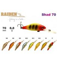 Воблер RAIDEN Shad 70