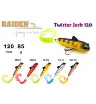 Воблер RAIDEN Twister Jerk 120