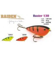 Воблер деревянный RAIDEN Buster 130