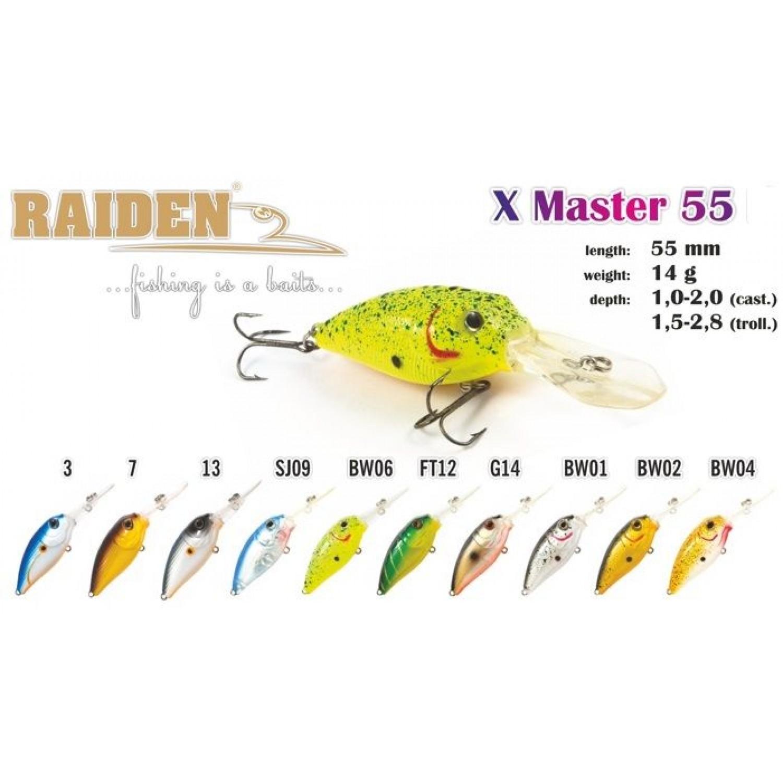 Покупка Воблер RAIDEN X-Master в Минске Беларуси