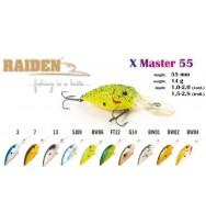 Воблер RAIDEN X-Master