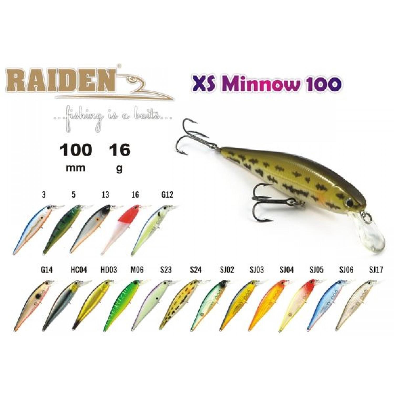 Покупка Воблер RAIDEN Xs-Minnow в Минске Беларуси