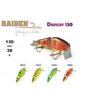 Воблер деревянный RAIDEN Dancer 130