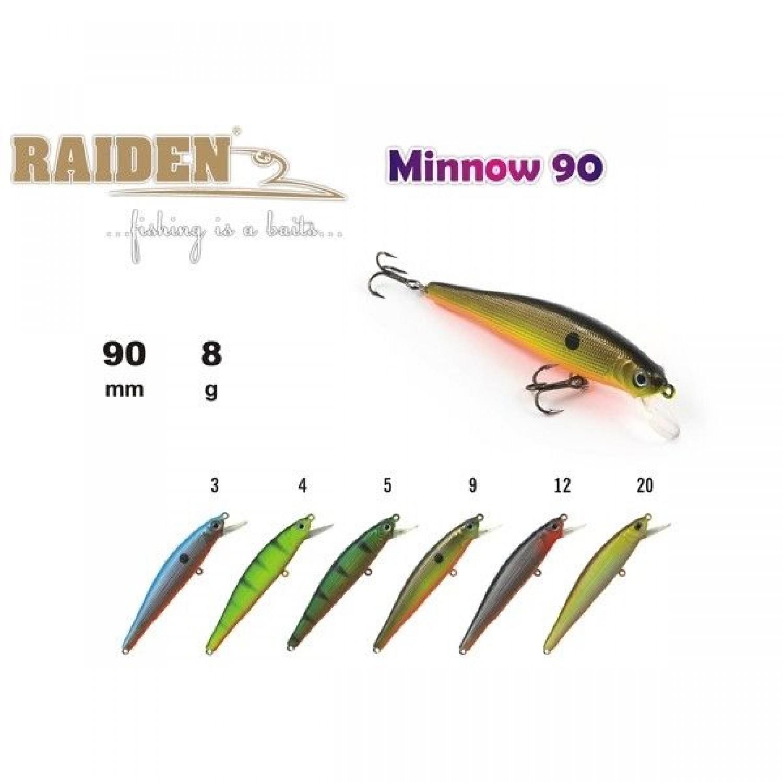 Покупка Воблер RAIDEN Minnow 90 в Минске Беларуси