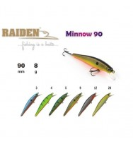 Воблер RAIDEN Minnow 90