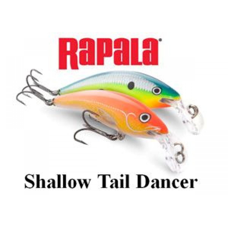 Покупка Воблер RAPALA Shallow Tail Dancer STD07 в Минске Беларуси